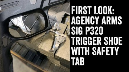 First Look: Agency Arms SIG P320 Trigger Shoe With Safety